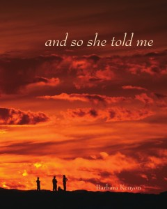 and so she told me by barbara kenyon